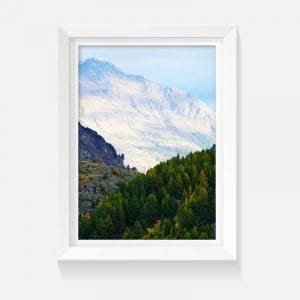 Indoor wall art artwork mountains Queenstown
